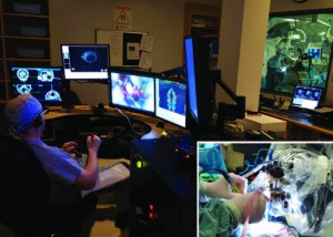 Merging machines with microsurgery- clinical experience with neuroArm