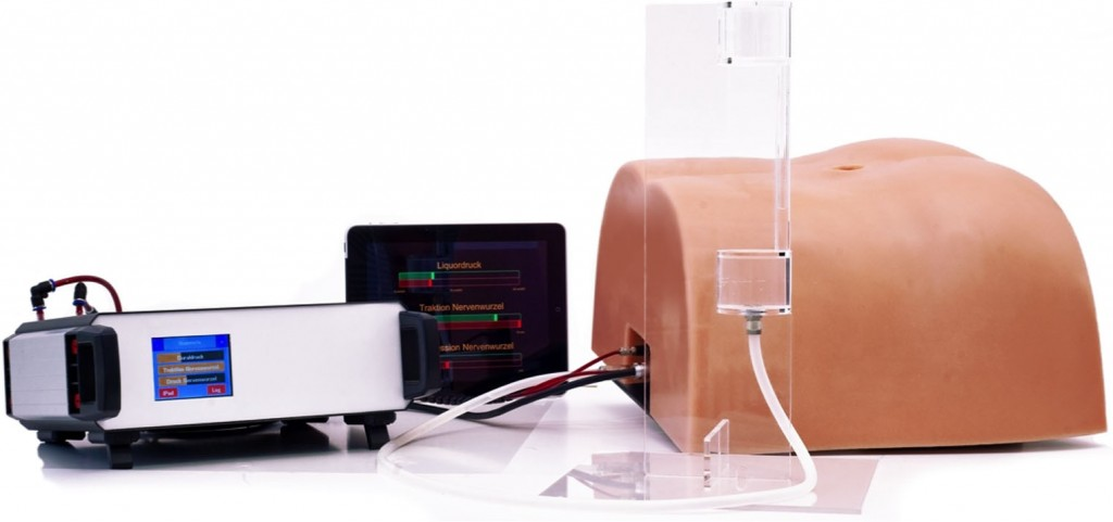 Development and validation of an artificial wetlab training system for the lumbar discectomy